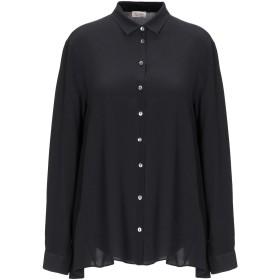 《期間限定 セール開催中》HER SHIRT レディース シャツ ブラック S シルク 100%