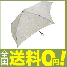 mabu 折りたたみ傘 軽量 デザイン トゥインクル パールグレー 5本骨 55cm UVカット 97%以上 グラスファイバー骨 MBU