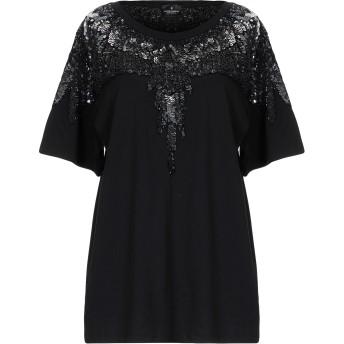 《セール開催中》MARCELO BURLON レディース T シャツ ブラック XXS コットン 100% / アクリル / 指定外繊維