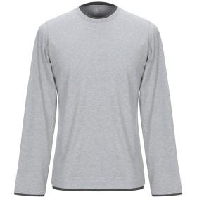 《期間限定セール開催中!》ELEVENTY メンズ T シャツ ライトグレー XL コットン 100%