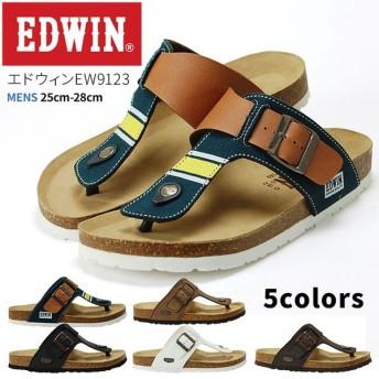 EDWIN エドウィン メンズ フットベットトングサンダル EW9123