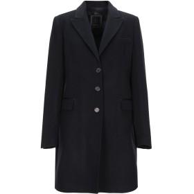 《期間限定 セール開催中》HANITA レディース コート ブラック 46 ウール 75% / ナイロン 20% / カシミヤ 5%