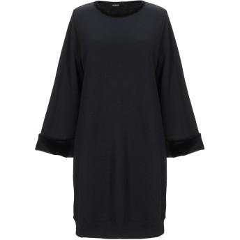 《セール開催中》ALPHA STUDIO レディース ミニワンピース&ドレス ブラック 42 コットン 100% / ポリエステル / ポリウレタン