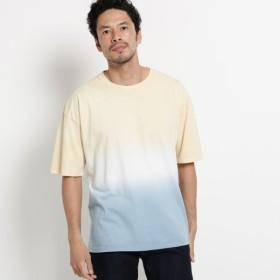 [マルイ]【セール】グラデーションダイTシャツ/オペークドットクリップ(メンズ)(OPAQUE. CLIP Mens)