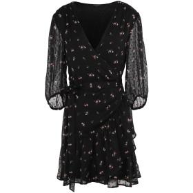 《期間限定 セール開催中》ALLSAINTS レディース ミニワンピース&ドレス ブラック XS ポリエステル 100%
