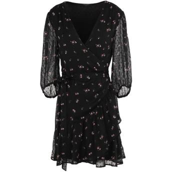 《期間限定セール開催中!》ALLSAINTS レディース ミニワンピース&ドレス ブラック XS ポリエステル 100%