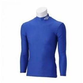 アンブロ umbro サッカー ジュニア JR L/Sコンプレッションシャツ UAS9300J BLU