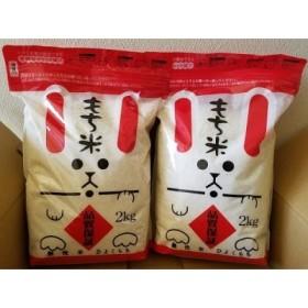 佐賀県産 「ひよくもち」無洗米(2Kg×2)
