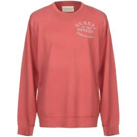 《期間限定 セール開催中》DENIM & SUPPLY RALPH LAUREN メンズ スウェットシャツ 赤茶色 L コットン 100%