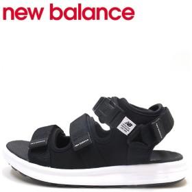 ニューバランス new balance SD750 サンダル スポーツサンダル メンズ Dワイズ ブラック 黒 SD750BK