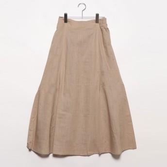 スタイルブロック STYLEBLOCK スラブガーゼマーメイドスカート (ベージュ)