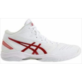 《送料無料》バスケットシューズ asics (アシックス) GELHOOP V11 WHITE/CLASSIC RED 1061A015 1905 バスケット