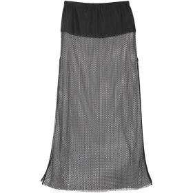 《期間限定セール開催中!》LIVIANA CONTI レディース ロングスカート ブラック 42 ナイロン 56% / レーヨン 21% / レーヨン 12% / 金属繊維 11%