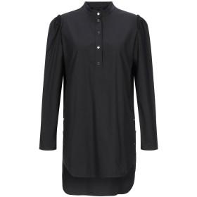 《期間限定 セール開催中》TWINSET レディース シャツ ブラック 42 97% コットン 3% ポリウレタン
