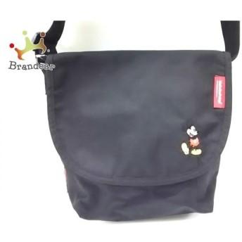 マンハッタンポーテージ ショルダーバッグ 黒 CORDURA×ミッキーマウス キャンバス スペシャル特価 20190821