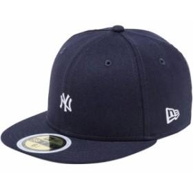 ニューエラ(NEWERA) キッズ キャップ 59FIFTY ミニロゴ ニューヨーク・ヤンキース KIDS 5950 NEYYAN MIN ネイビー×スノーホワイト 118