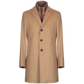 《期間限定セール開催中!》PAOLONI メンズ コート キャメル 50 バージンウール 80% / ナイロン 20%