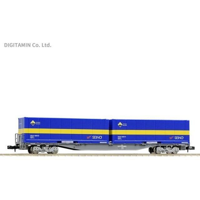 8731 TOMIX トミックス コキ107形 (増備型・西濃運輸コンテナ付) Nゲージ 鉄道模型(ZN59122)