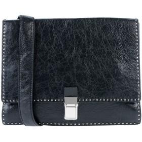 《期間限定セール開催中!》VALENTINO GARAVANI レディース メッセンジャーバッグ ブラック 紡績繊維