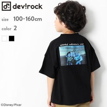 子供服 半袖Tシャツ キッズ 韓国子供服 [Disney PIXAR トイストーリー ビックシルエット Tシャツ 男の子 女の子 全2色 100-160] M1-4