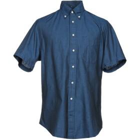 《セール開催中》GITMAN BROS. Vintage メンズ シャツ ダークブルー XS コットン 100%