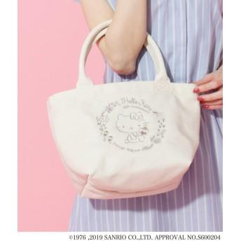 passage mignon(パサージュ ミニョン) ◆キャンバスランチバッグ(ハローキティ)
