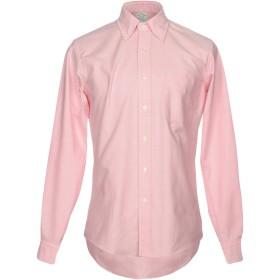 《期間限定セール開催中!》BROOKS BROTHERS メンズ シャツ ピンク 15 コットン 100%