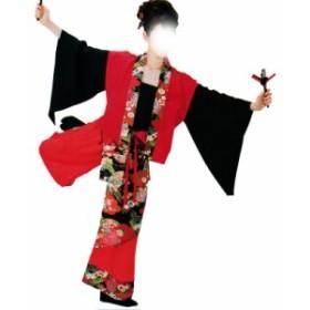 よさこい衣装 上衣 C73047 赤【よさこい/踊り衣裳/お祭用品/まつり用品/お祭り】