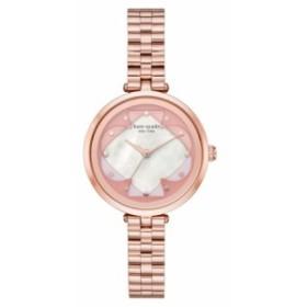 ケイトスペード レディース 腕時計 アクセサリー kate spade new york holland bracelet watch, 34mm Rose Gold/ Mop/ Rose Gold