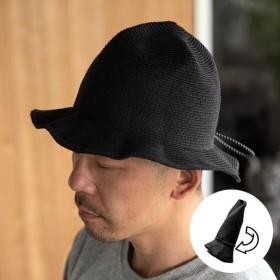 bc5050dc85d3b 帽子 黒 折りたたみ メンズ レディース 撥水加工 ブレードハット マウンテンハット アウトドア 旅行 麦わら帽