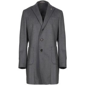 《セール開催中》PAOLONI メンズ コート 鉛色 52 バージンウール 80% / ナイロン 20%