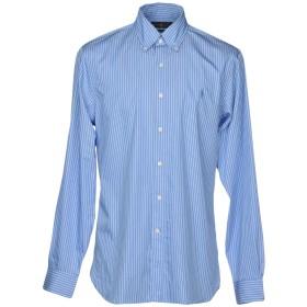 《セール開催中》RALPH LAUREN メンズ シャツ アジュールブルー 42 コットン 100%