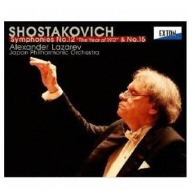 ショスタコーヴィチ:交響曲第12番「1917年」&第15番 / ラザレフ (CD)