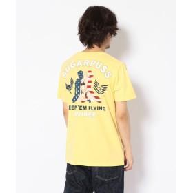 アヴィレックス シュガープス ピンナップガール Tシャツ/ SUGARPUSS PINUP GIRL T SHIRT メンズ CREAM L 【AVIREX】