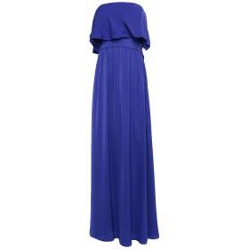 《セール開催中》ANNARITA N レディース ロングワンピース&ドレス ブライトブルー 40 ポリエステル 100%