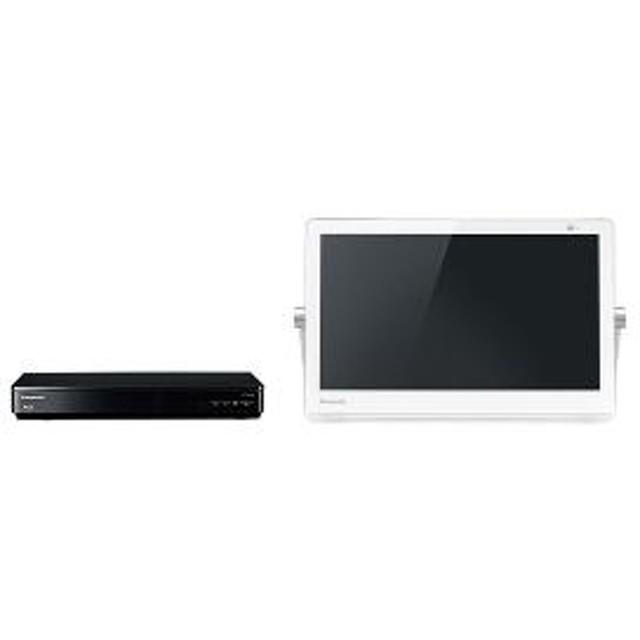 【パナソニック】 プライベートビエラ VIERA(ビエラ) UN-15CTD9-W 据置型液晶TV15型以下