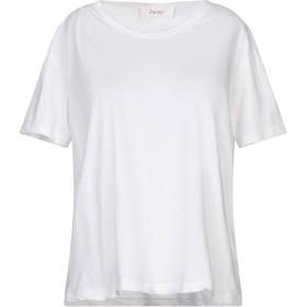 《期間限定セール開催中!》JUCCA レディース T シャツ ホワイト L コットン 100%