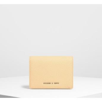 クラッシックスナップボタンウォレット / Classic Snap Button Wallet (Yellow)