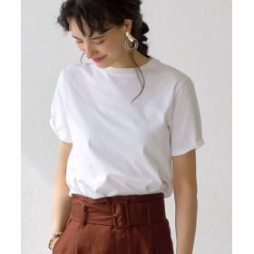 (green label relaxing/グリーンレーベルリラクシング)<MGHT> SC SIGNATURE シンプル Tシャツ/レディース OFFWHITE 送料無料