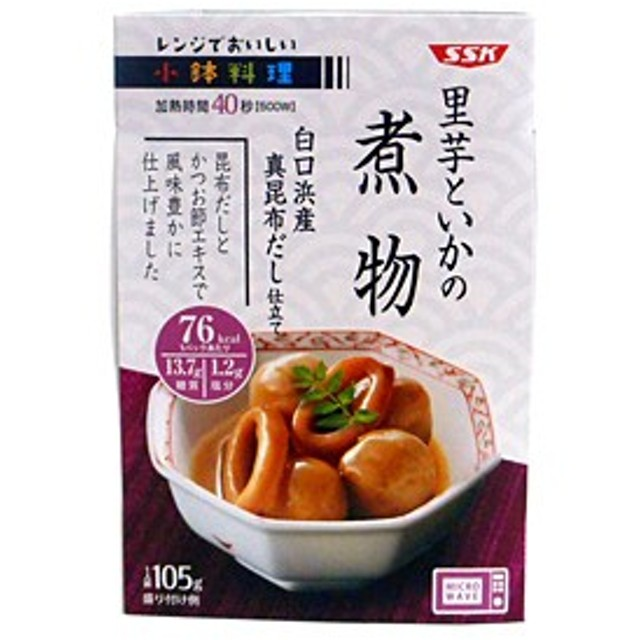 SSK 里芋といかの煮物105g【イージャパンモール】【キャッシュレス5%還元】