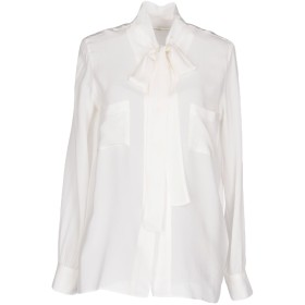 《期間限定セール開催中!》GOLDEN GOOSE DELUXE BRAND レディース シャツ ホワイト M 100% シルク