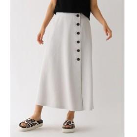 aquagirl / アクアガール ドライタッチボタンラップスカート