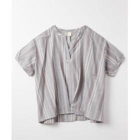 裾タックスキッパーブラウス (ブラウス),Blouses, Shirts