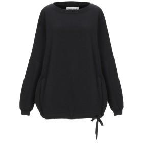 《セール開催中》5PREVIEW レディース スウェットシャツ ブラック XS コットン 100%