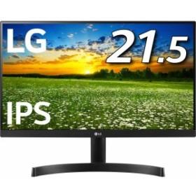 LG モニター ディスプレイ 22MK600M-B 21.5インチ/フルHD/IPS 非光沢/フレームレス/HDMI×2/ブルーライト