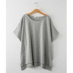 ボックスシルエットTシャツ (Tシャツ・カットソー)(レディース)T-shirts