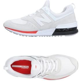 《期間限定 セール開催中》NEW BALANCE メンズ スニーカー&テニスシューズ(ローカット) ライトグレー 8 革 / 紡績繊維