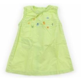 【ファミリア/familiar】ワンピース 90サイズ 女の子【USED子供服・ベビー服】(398168)