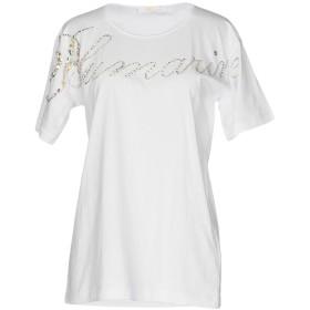 《セール開催中》BLUMARINE レディース T シャツ ホワイト M コットン 100%