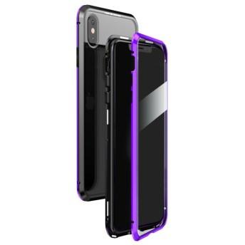 シンシア LUPHIE/ルフィiPhone X/XS/XS MAX Magnetic Bumper Case マグネティック バンパーケース ユニセックス パープル X/XS 【Sincere】